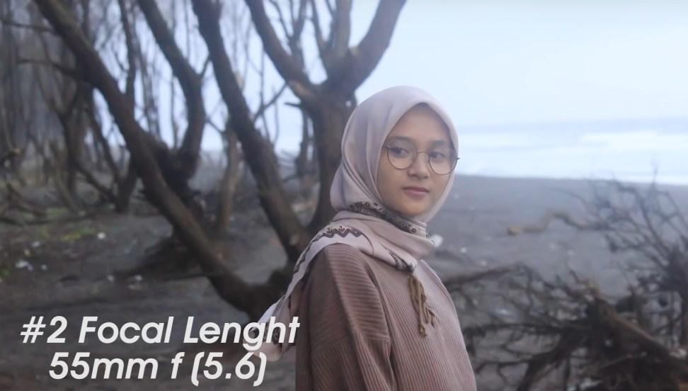 Focal Length 55mm f (5.6)